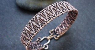 Wire Cuff bracelet, Wire wrap bracelet, Copper bracelet, Wire wrap jewelry, Unique handmade jewelry,