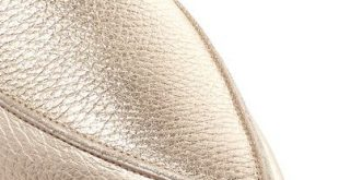 Nicholas Kirkwood - Beya Metallic Textured-leather Slippers - Gold