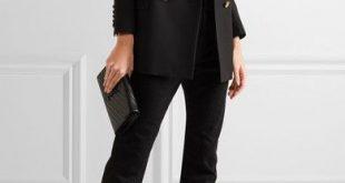 Saint Laurent - Lou Lou Metallic Textured-leather Ankle Boots - Gold