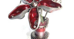 Flower Power Gear Sculpture
