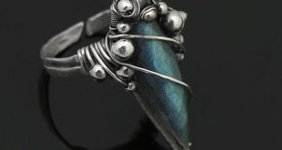 Free Wire Jewelry Tutorials   Free Time Crafts: DIY: Simple Wire-Wrapped Ring Tu...