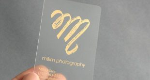 200 Business Cards - Frosted plastic stock - with gold or silver metallic foil - recyclable opaque eco-friendly - free rounded corners
