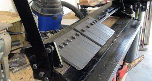 Bench-top Box/Pan Sheet Metal Brake, by J. Hartnell