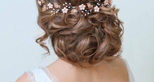 Blush Bridal Headpiece Rose Gold Wedding Hair vine Blush Bridal Flower Crown Rose Gold Floral Wedding Headband Blush bridal hair piece