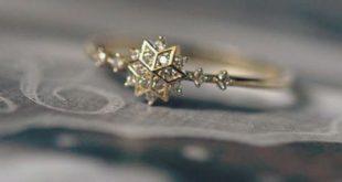 Cute Snowflake Ring