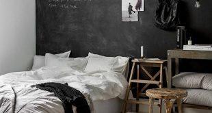 Dark and dreamy Ikea bedroom