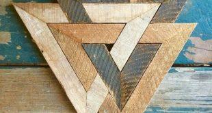Hervorragend Die erstaunliche Kunst des geometrischen Holzdesigns fancydecors.co / … Großartig, ein