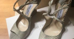 Jimmy Choo Shoes   Beautiful Jimmy Choo 121 Verrin Wedges   Color: Gold   Size: 10.5