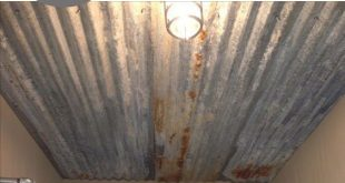 10 Beautiful Ways to Use Rusted Sheet Metal in Your Home