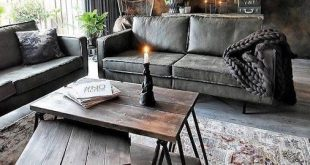 9 Miraculous Unique Ideas: Industrial Sofa Grey industrial apartment ceiling.Rus...