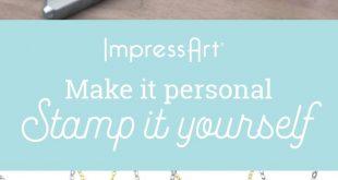 ImpressArt Bezel Kits make beautiful DIY jewelry pieces. #jewelrystamping #jewel...