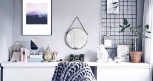 The metal grid is a wonderful addition to the room, such a great detail and so e...