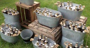 Top 20 Rustic Country Galvanized Bucket Wedding Ideas